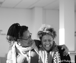 Yaina Samuels and Dr Yvonne Howard-Bunt