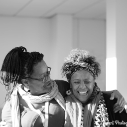 Yaina Samuels and Dr Yvonne Howard-Bunt