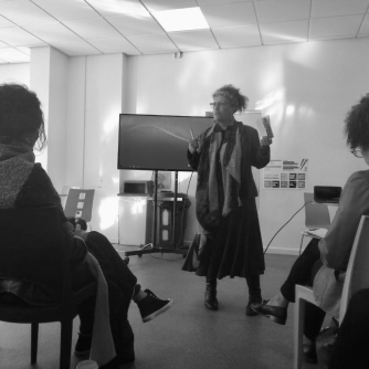 Dr Yvonne Howard-Bunt at Bridgend Minority Ethnic Forum