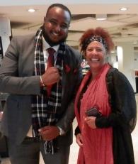 Ali Abdi and Yvonne Howard-Bunt