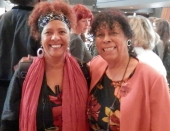 Patti Flynn and Yvonne Howard-Bunt, BHM Wales Grand Finale 2018